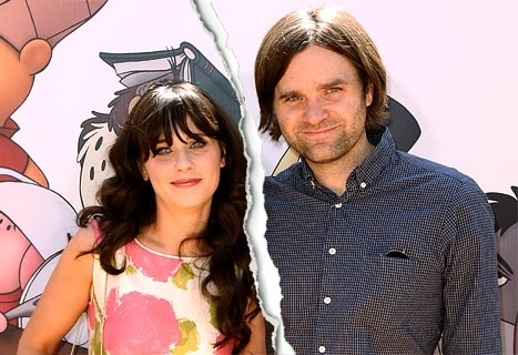 Hipsters Rejoice: Zooey Deschanel and Husband Split