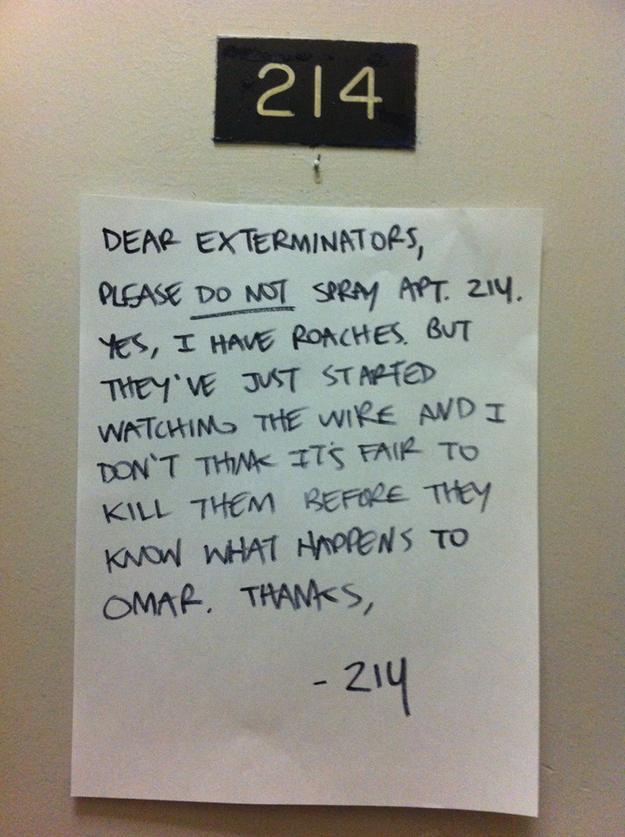 Dear Exterminators