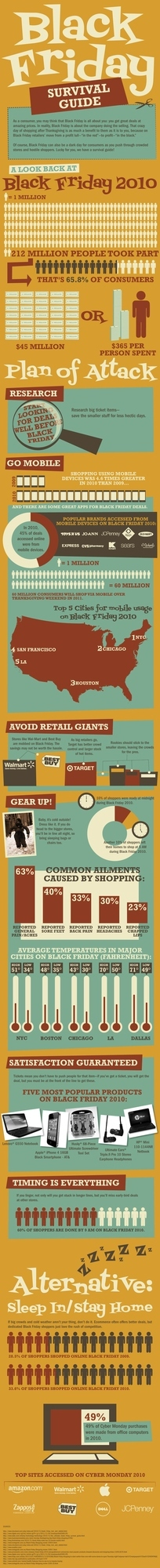 The Black Friday Survival Guide [Infographic]