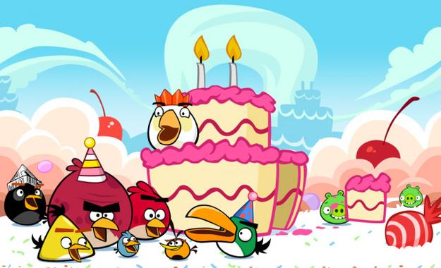 Rovio Celebrates Angry Birds 2nd Birthday.