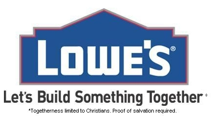Lowe's Motto Gets Corrected