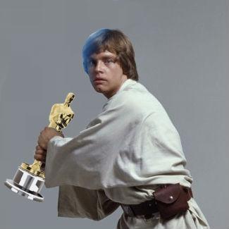 Luke Skywalker Holding Things