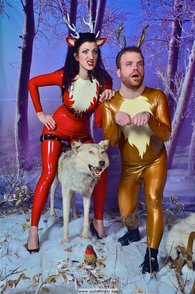 Wishing You a Very Rubbery Christmas...
