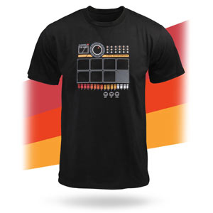 Play It With Your Chest - Electronic Drum Machine T-Shirt!