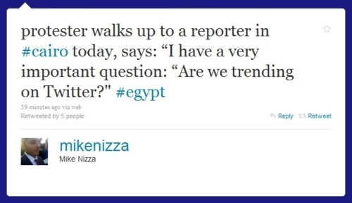 Egypt Tweet Of The Day