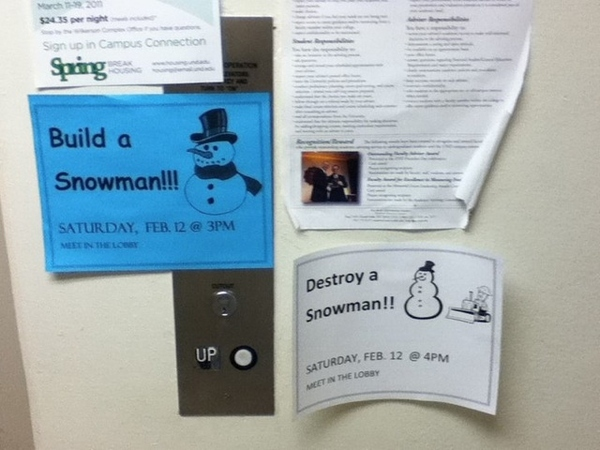 A Snowman Activity for Everyone