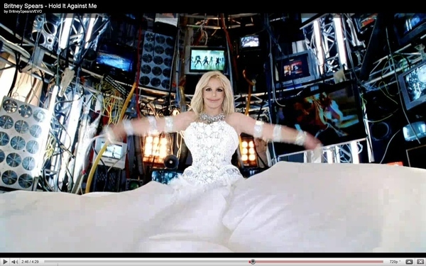 'Creepy Britney' In The Hold It Against Me Video