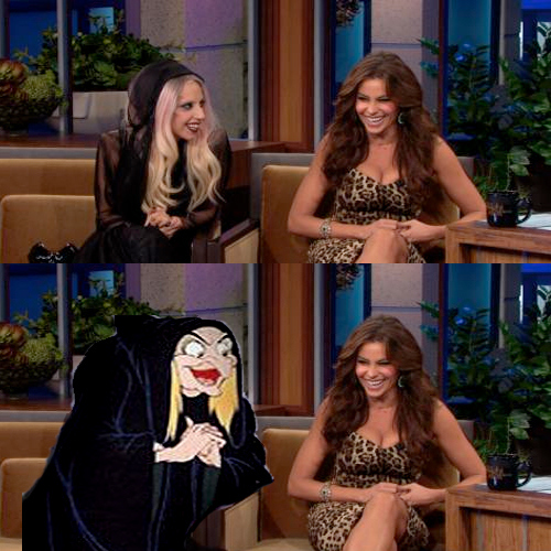 Lady Gaga Is Really The Evil Queen In Snow White