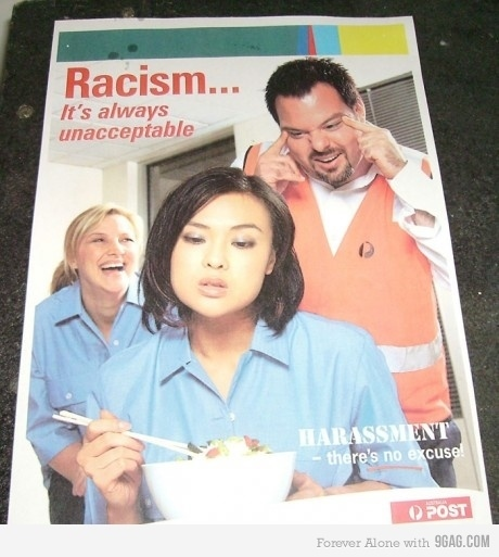 Racism Poster for Bipolars