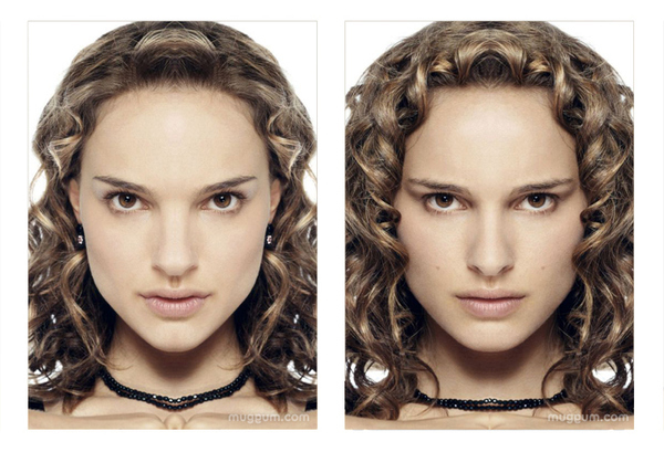 Natalie Portman Mirrored