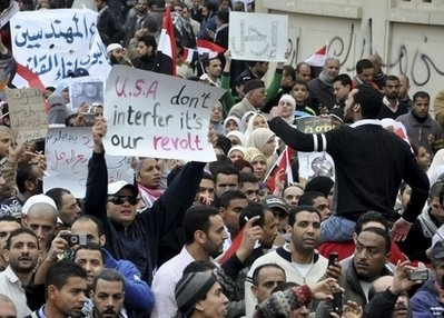Don't Interfere, It's Our Revolt!