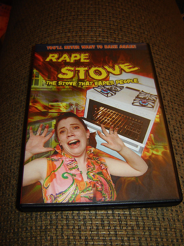 Rape Stove The Movie. Thanks @pattonoswalt Possibly NSFW