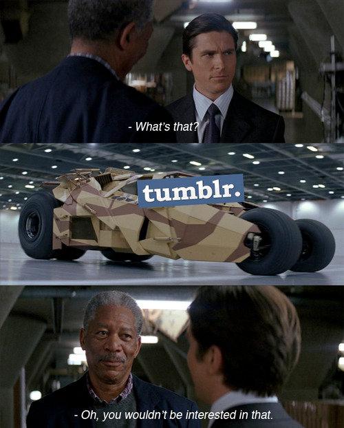 Batman Meets His New Ride
