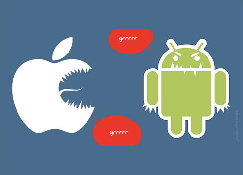 Android and IPhone the Rage Continues…