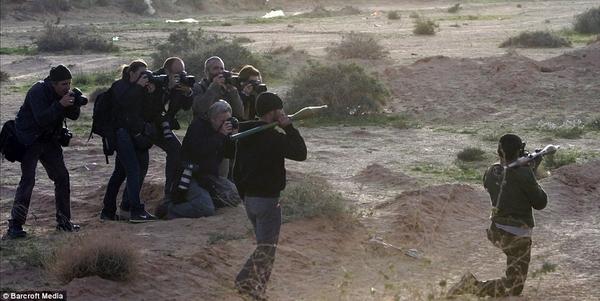 Is Libya A Media War?