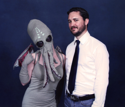 Wil Wheaton Meets Lady Cthulhu