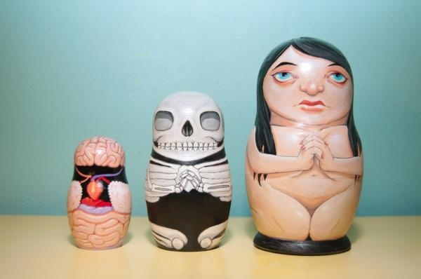 The Coolest Matryoshka Doll