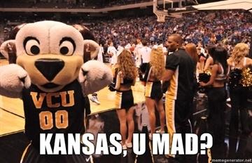 OMG #11 VCU knocked off #1 Seed Kansas to advance to Final Four