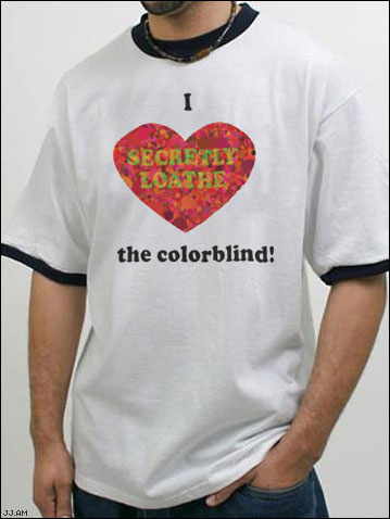 I <3 The Colorblind!