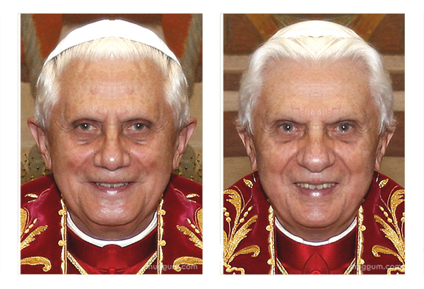 The Pope's Evil Twin!!!