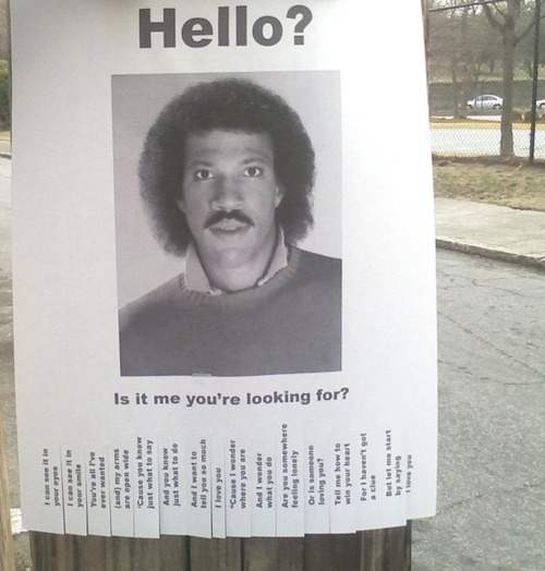 Lionel Ritchie Is Longing To Be Found