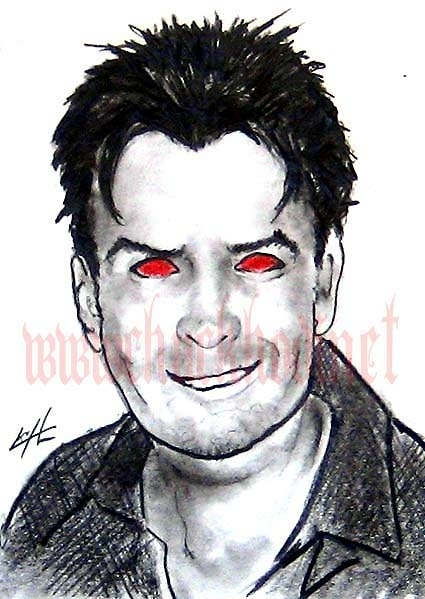 Charlie Sheen is Horny!