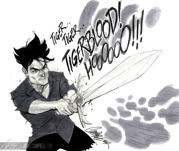 Charlie Sheen Thundercat