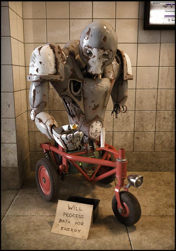 Cyborg Hobo