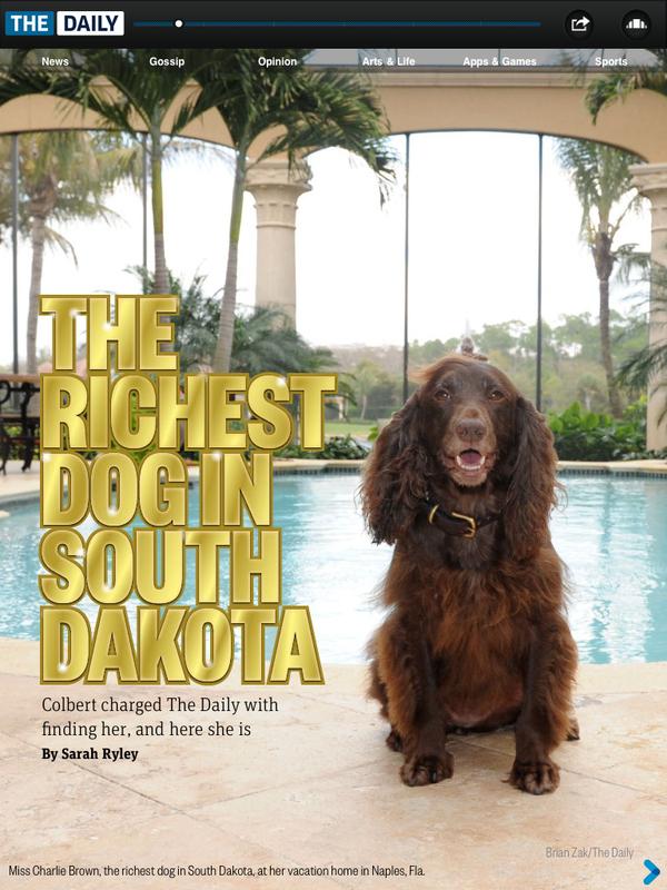 The Richest Dog in South Dakota
