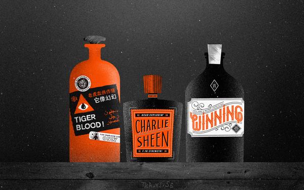 Charlie Sheen's Medicine Cabinet