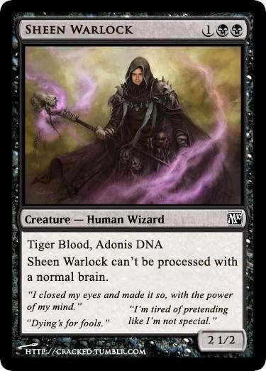 Warlock Charlie Sheen