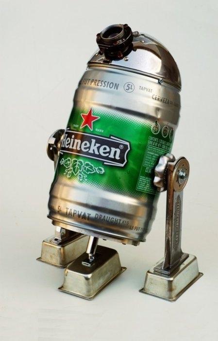 Heineken R2D2 Keg
