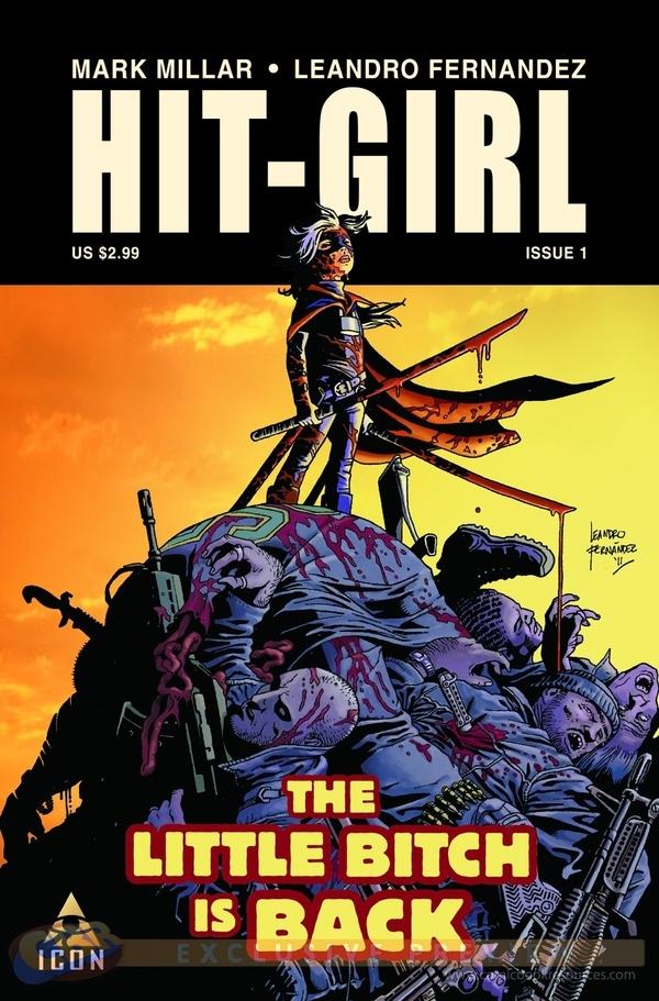 Hit-Girl Comic Announced