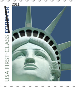 Post Office Uses Wrong Statue of Liberty On Stamp