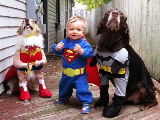 Adorable Justice League
