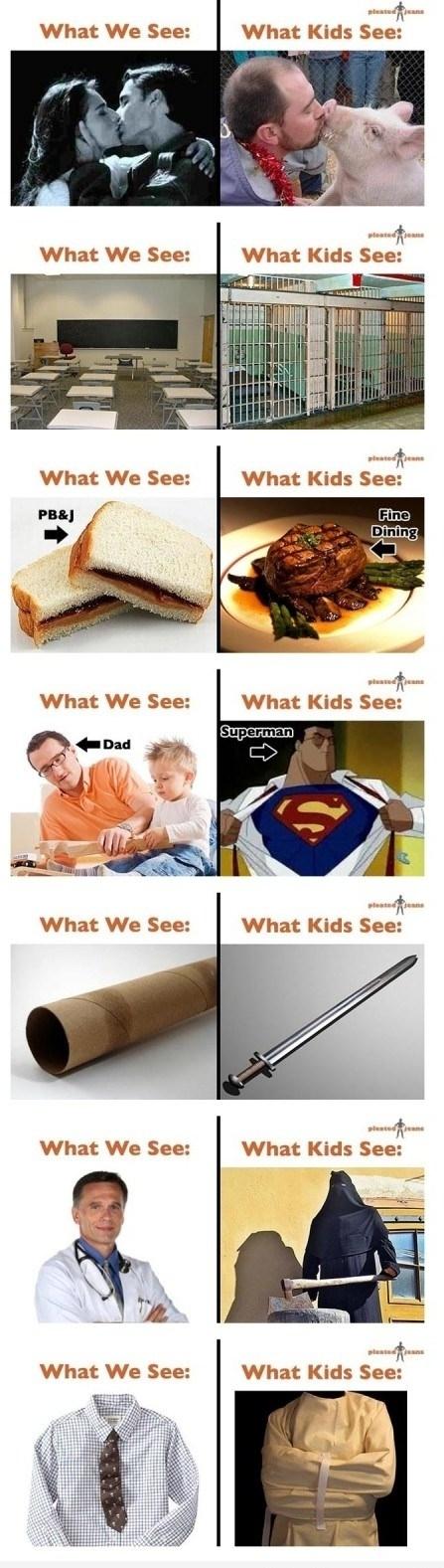 Kids See..We See