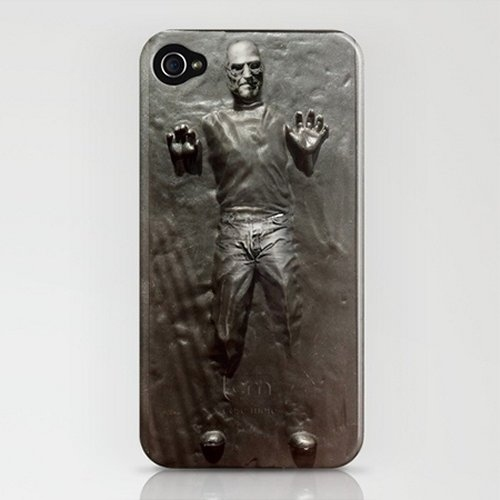 The Steve Jobs Carbonite iPhone Case