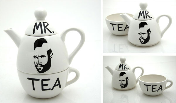 Mr. T Tea Set