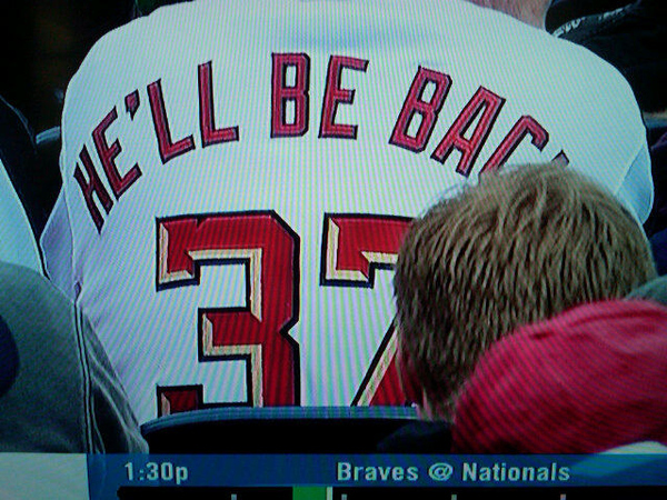 The Worst Jersey you will see today: Washington Nationals Edition