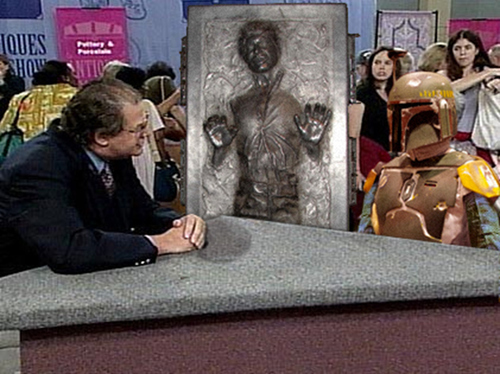 Boba Fett On Antiques Roadshow