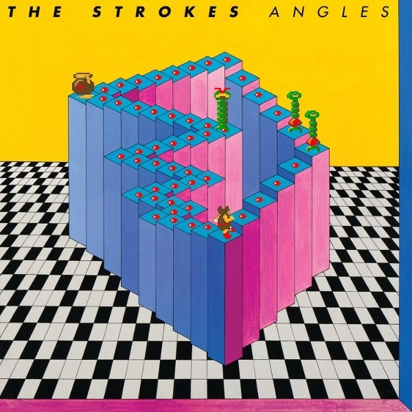 The Strokes' Angles + Crystal Castles (arcade) Album Cover Mashup