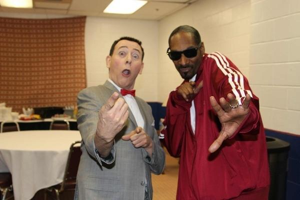 When Snoop Dogg Met Pee Wee Herman