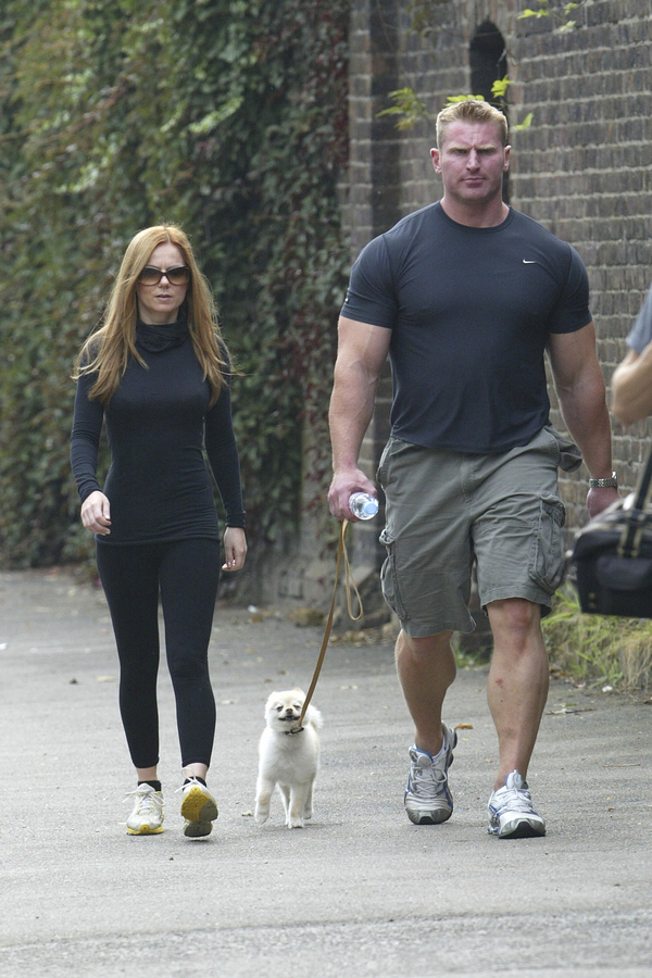 Ginger Spice Goes For A Walk