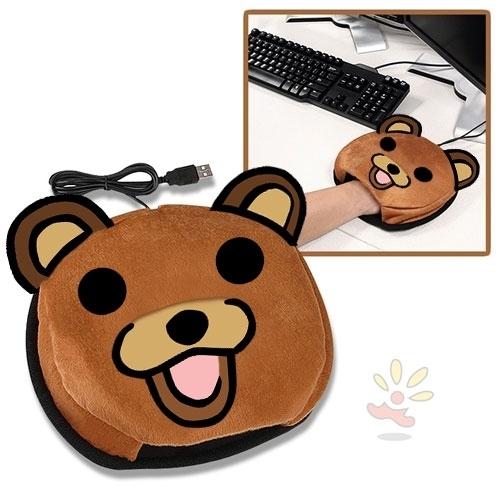 Pedobear USB Hand Warmer Mouse Pad