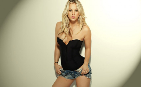 You Know She's the Only Reason You Watch Big Bang Theory
