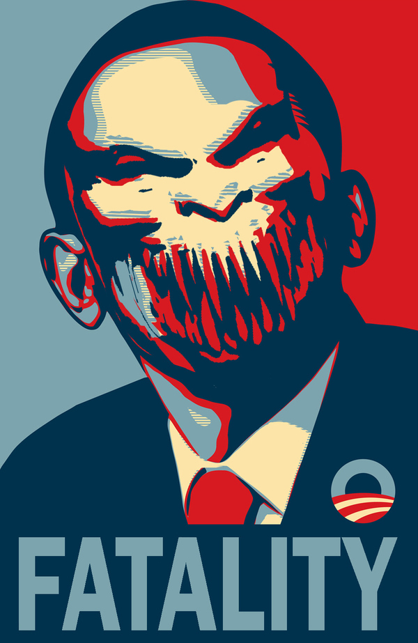 Mortal Kombat: Baraka Obama 2012