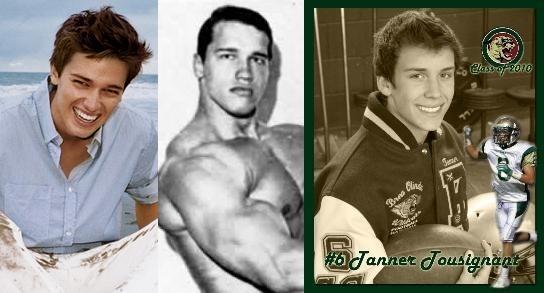 Schwarzenegger Son and Maybe Son Comparison