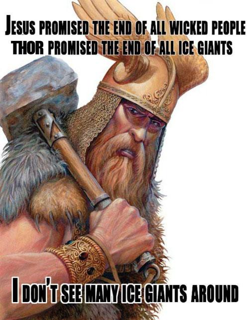 Jesus Versus Thor