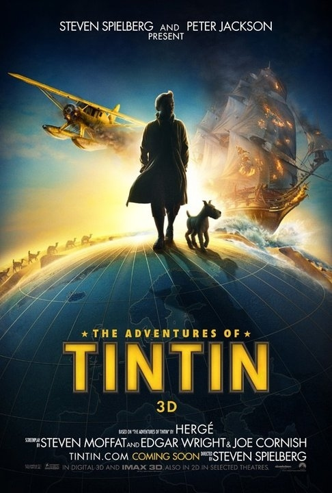 First Tintin Movie Poster