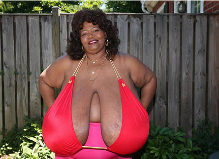 The Largest Natural Breasts Ever Seen!
